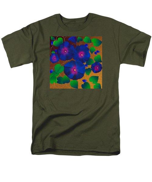 Men's T-Shirt  (Regular Fit) featuring the digital art Morning Glory by Latha Gokuldas Panicker