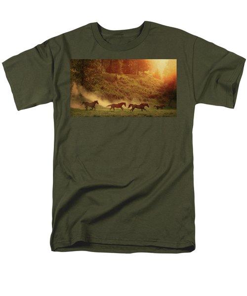 Morning Glory Men's T-Shirt  (Regular Fit)