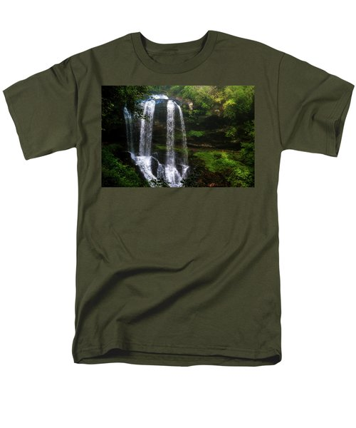 Men's T-Shirt  (Regular Fit) featuring the photograph Morning In The Mist by Allen Carroll