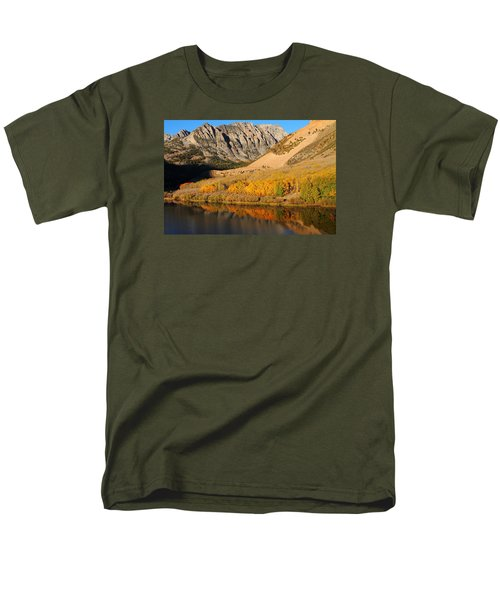 Morning Light At North Lake In The Eastern Sierras Men's T-Shirt  (Regular Fit) by Jetson Nguyen