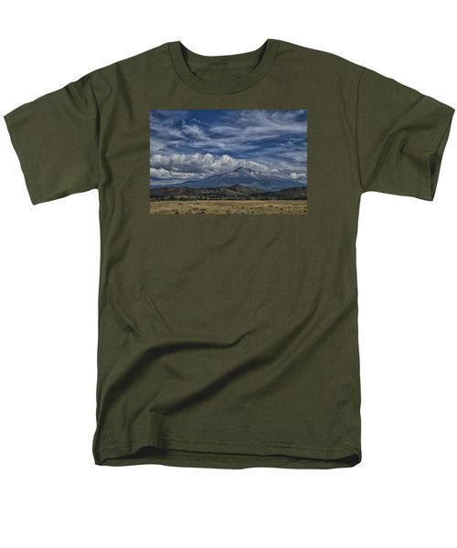 Men's T-Shirt  (Regular Fit) featuring the photograph Mount Shasta 9946 by Tom Kelly