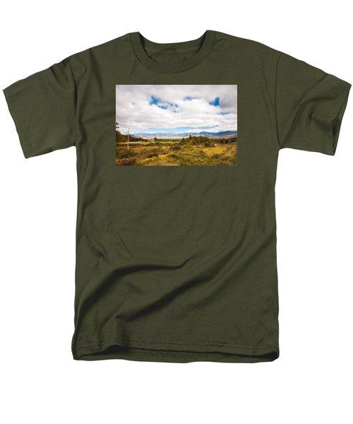 Mount Washington Hotel Men's T-Shirt  (Regular Fit) by Robert Clifford