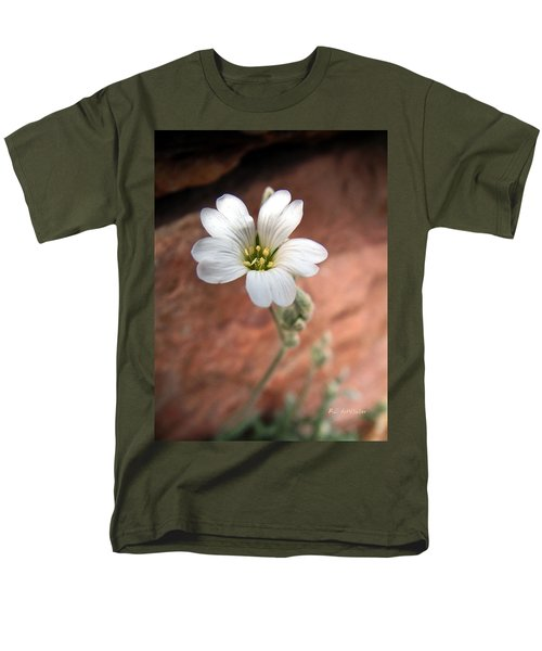 Men's T-Shirt  (Regular Fit) featuring the photograph Mountain Beauty by RC DeWinter