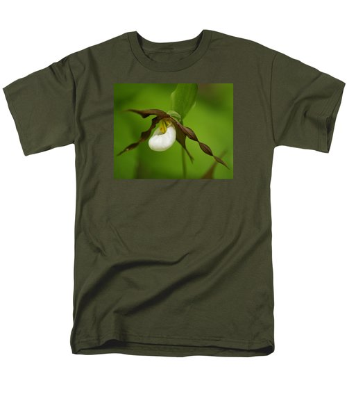 Men's T-Shirt  (Regular Fit) featuring the photograph Mountain Lady's Slipper by Ben Upham III