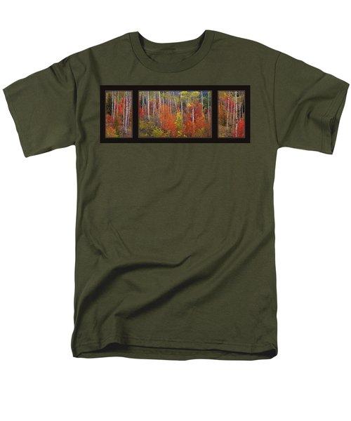 Mountain Of Color Men's T-Shirt  (Regular Fit) by Leland D Howard