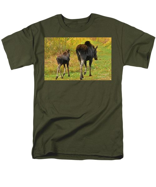Men's T-Shirt  (Regular Fit) featuring the photograph Movin On Down The Road by Sam Rosen
