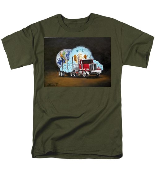 Moving Heaven And Earth  Men's T-Shirt  (Regular Fit)