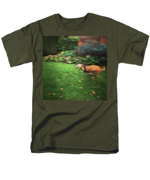Mr Finly Enjoying A Few Rapid Laps Of Men's T-Shirt  (Regular Fit) by John Edwards