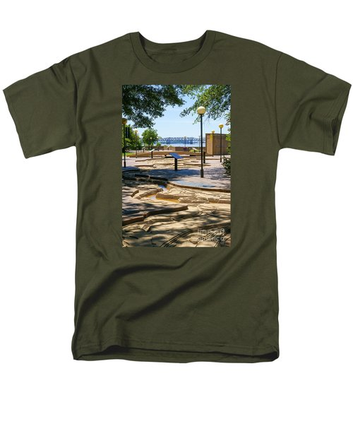 Mud Island Park Men's T-Shirt  (Regular Fit) by Jennifer White