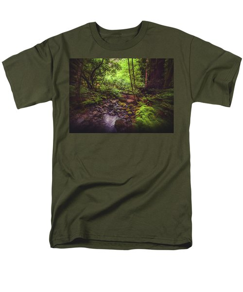Muir Woods No. 3 Men's T-Shirt  (Regular Fit) by Laura DAddona