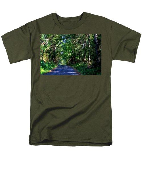 Murphy Mill Road - 2 Men's T-Shirt  (Regular Fit) by Jerry Battle