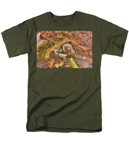 Mushpot Cave Men's T-Shirt  (Regular Fit) by Richard J Cassato