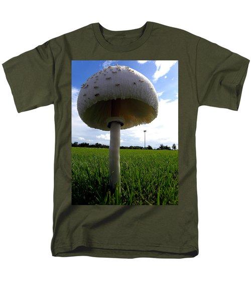 Mushroom 005 Men's T-Shirt  (Regular Fit) by Chris Mercer