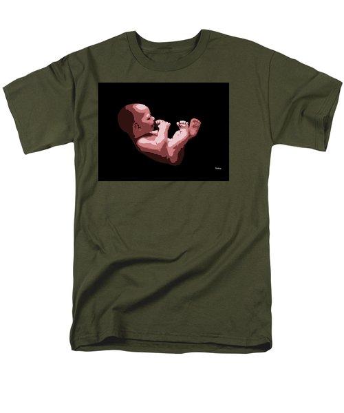 Men's T-Shirt  (Regular Fit) featuring the digital art Music Notes 20 by David Bridburg