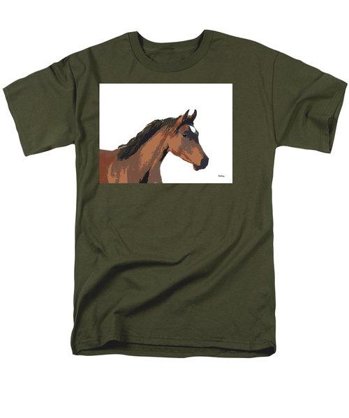 Men's T-Shirt  (Regular Fit) featuring the digital art Music Notes 26 by David Bridburg