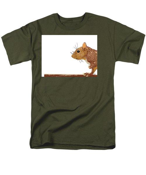 Men's T-Shirt  (Regular Fit) featuring the digital art Music Notes 7 by David Bridburg