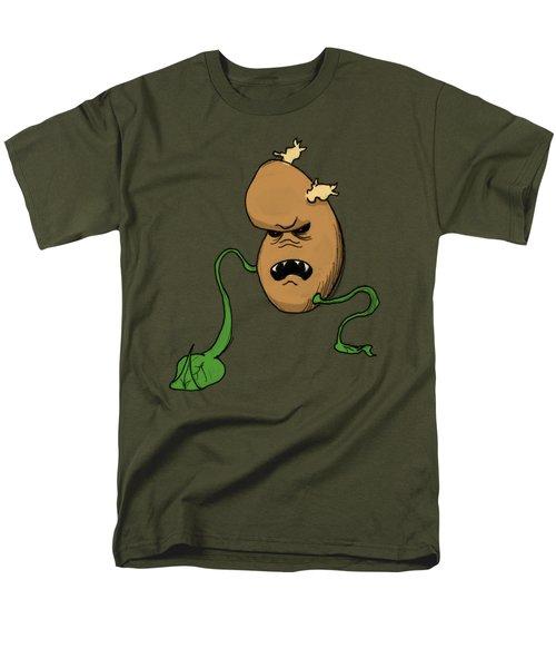 Mutant Potato Men's T-Shirt  (Regular Fit) by Eliseo Segui Gonzalez