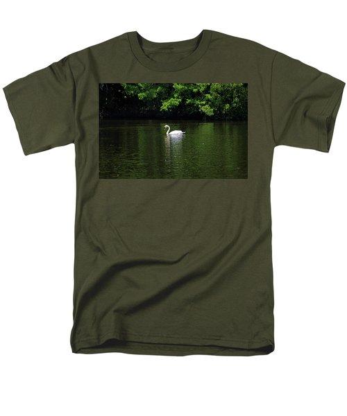 Men's T-Shirt  (Regular Fit) featuring the photograph Mute Swan by Sandy Keeton