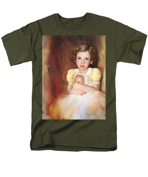 Men's T-Shirt  (Regular Fit) featuring the photograph My Dolly by Bonnie Willis