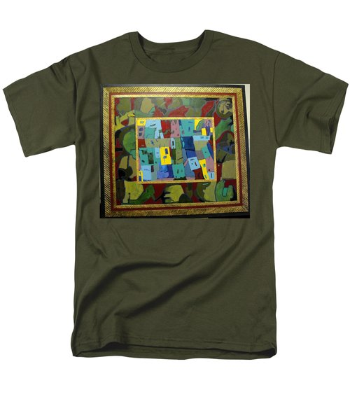 My Little Town Men's T-Shirt  (Regular Fit) by Bernard Goodman