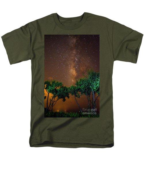 My Milky Way Men's T-Shirt  (Regular Fit) by Quinn Sedam