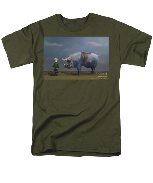 My Pony Men's T-Shirt  (Regular Fit) by Kathy Russell