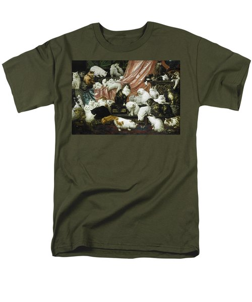 My Wife's Lovers Men's T-Shirt  (Regular Fit) by Carl Kahler
