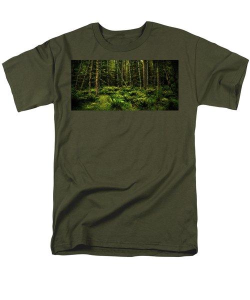 Mysterious Forest Men's T-Shirt  (Regular Fit)