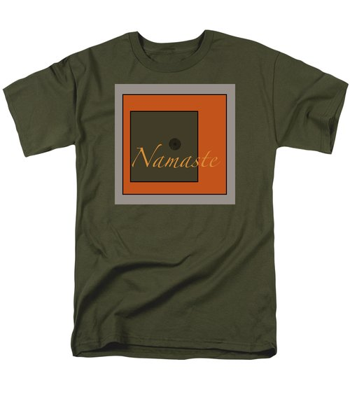Men's T-Shirt  (Regular Fit) featuring the digital art Namaste by Kandy Hurley