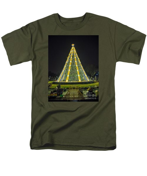 National Christmas Tree #1 Men's T-Shirt  (Regular Fit)