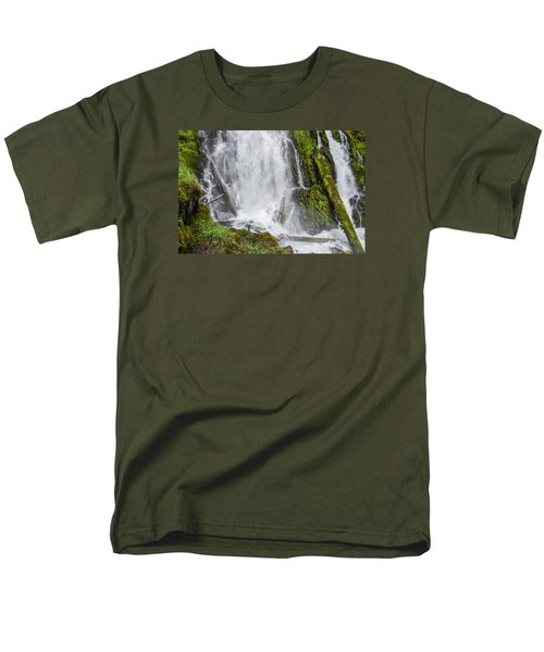 National Falls 2 Men's T-Shirt  (Regular Fit) by Greg Nyquist