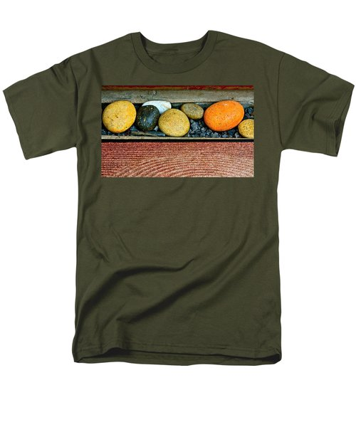Natural Boundaries Men's T-Shirt  (Regular Fit) by Karon Melillo DeVega