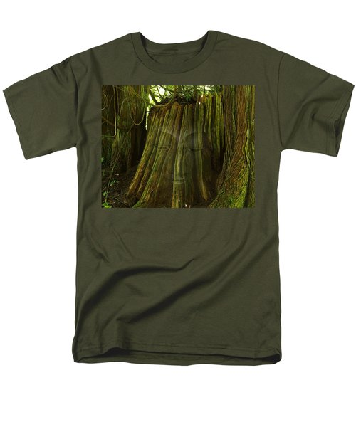 Nature Buddha Men's T-Shirt  (Regular Fit) by I'ina Van Lawick