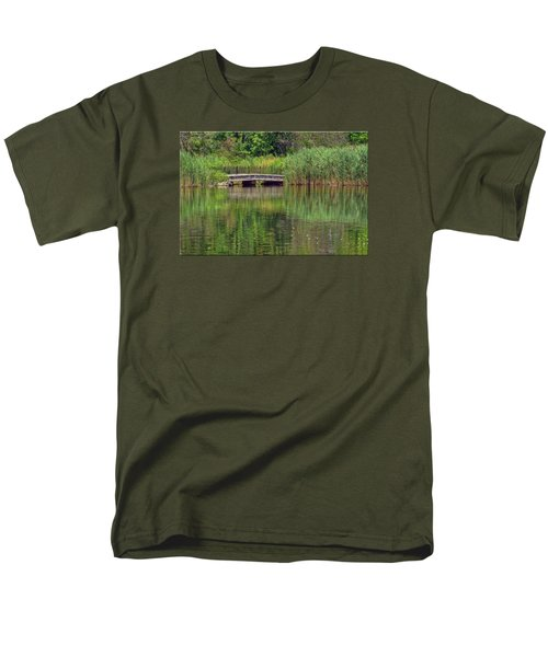 Nature In Green Men's T-Shirt  (Regular Fit) by Mikki Cucuzzo