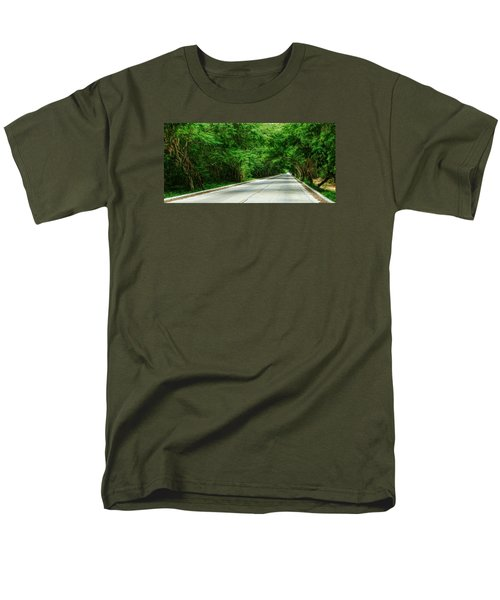 Men's T-Shirt  (Regular Fit) featuring the photograph Nature's Canopy by Cameron Wood