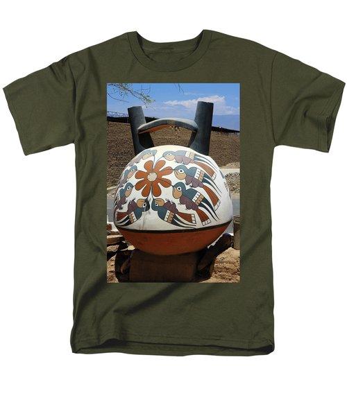 Nazca Ceramics Peru Men's T-Shirt  (Regular Fit) by Aidan Moran