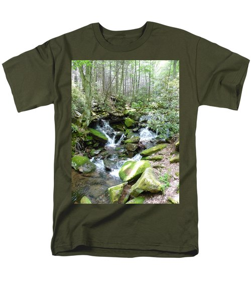Near The Grotto Men's T-Shirt  (Regular Fit) by Joel Deutsch