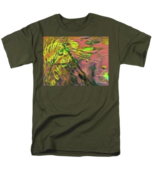 Neon Synapses Men's T-Shirt  (Regular Fit) by Todd Breitling