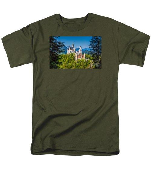 Neuschwanstein Fairytale Castle #2 Men's T-Shirt  (Regular Fit) by JR Photography