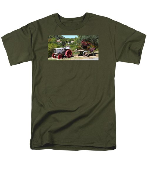 Men's T-Shirt  (Regular Fit) featuring the photograph New Pastures by Richard Patmore