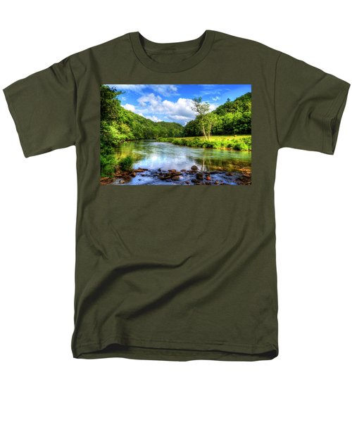 New River Summer Men's T-Shirt  (Regular Fit) by Dale R Carlson