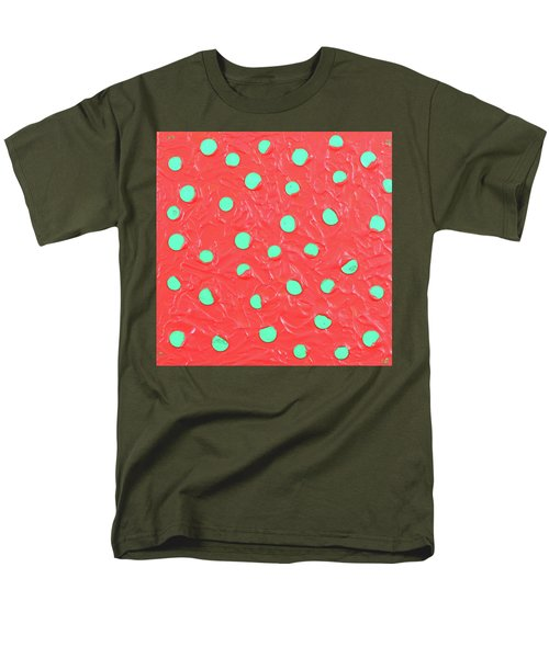 Men's T-Shirt  (Regular Fit) featuring the painting Nickels And Dimes by Thomas Blood