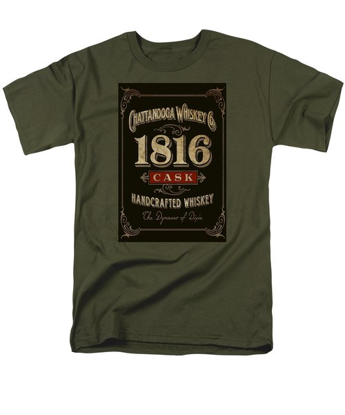 Men's T-Shirt  (Regular Fit) featuring the digital art Nooga Whiskey by Greg Sharpe