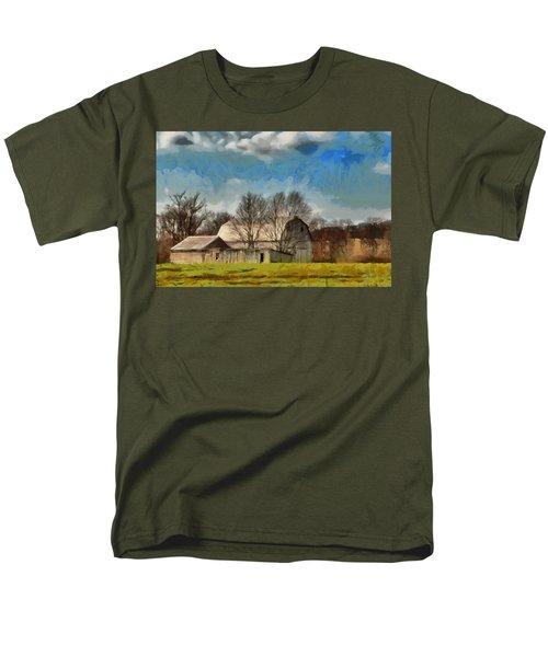 Norman's Homestead Men's T-Shirt  (Regular Fit) by Trish Tritz