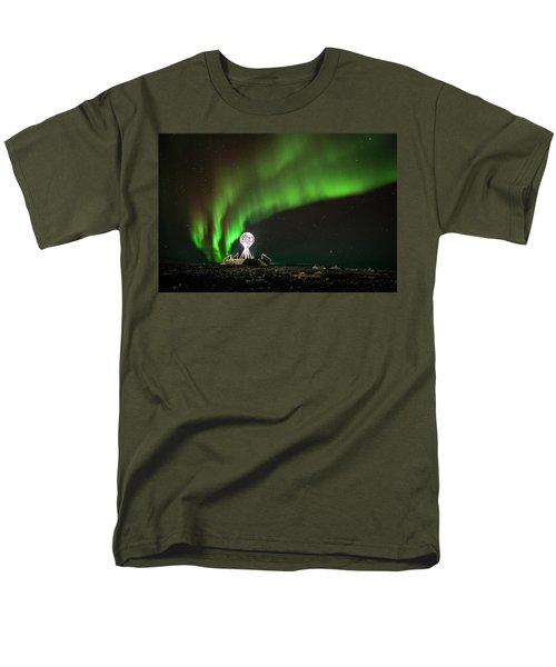 Norrsken Men's T-Shirt  (Regular Fit) by Thomas M Pikolin