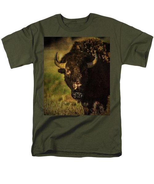 North American Buffalo Men's T-Shirt  (Regular Fit)