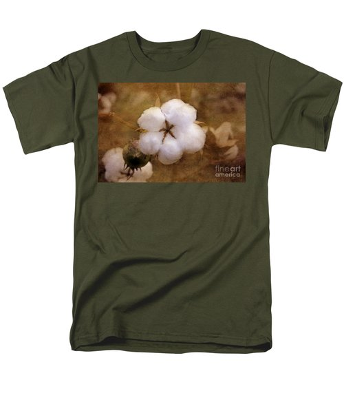 North Carolina Cotton Boll Men's T-Shirt  (Regular Fit) by Benanne Stiens