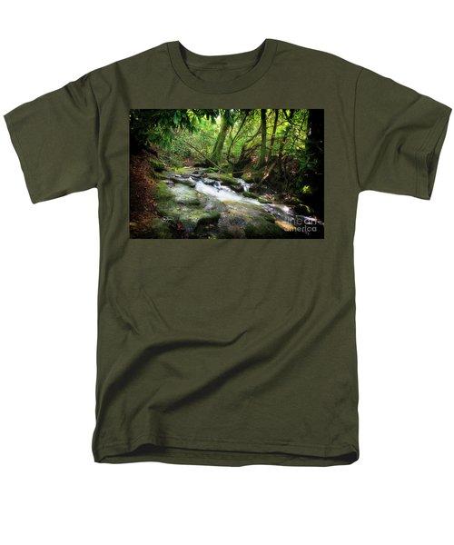 North Georgia Mountains  Men's T-Shirt  (Regular Fit)