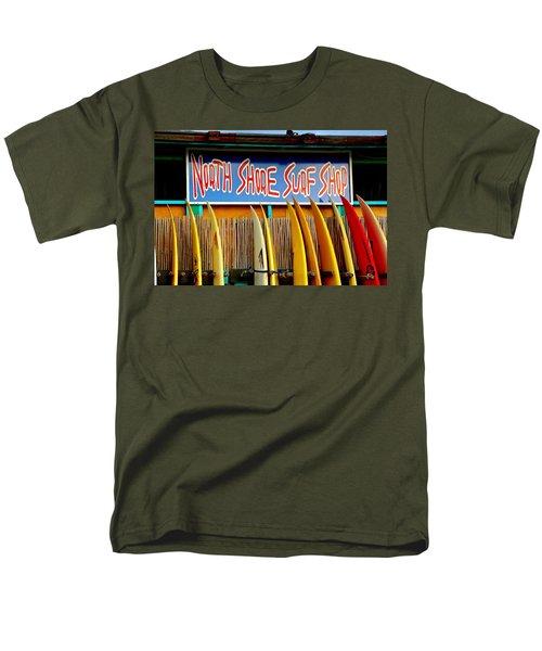 Men's T-Shirt  (Regular Fit) featuring the photograph North Shore Surf Shop 2 by Jim Albritton