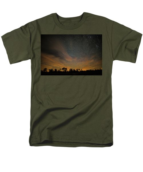 Northern Sky At Night Men's T-Shirt  (Regular Fit) by Phil Abrams